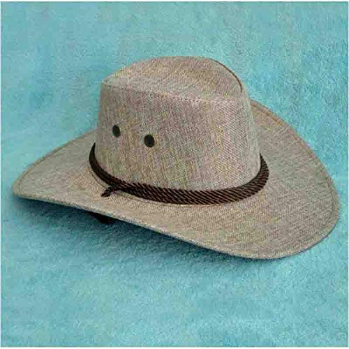 Zhangmeiren El Nuevo Hombre del Sombrero De Vaquero del Sol del Sombrero del Sol del Sombrero del Verano Apoyos De La Danza Cosplay (Color : C)