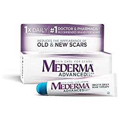 in budget affordable Mederma Advanced Scar Gel-Once a day: Reduce usage, increase savings-Reduce old and new look …