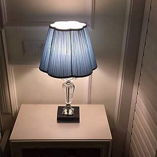 Lampe de Table Lampe de Table en Cristal de Luxe léger Chambre à Coucher Romantique Mariage Chaleur dimmable Lampe de Chev...
