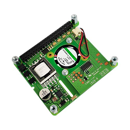 L.Z.H PoE HAT Add-on Board With Control Fan PoE Hat Expension Board For Raspberry Pi 4 Model B / 3B+ Plus / 3B 3d Printer Accessories