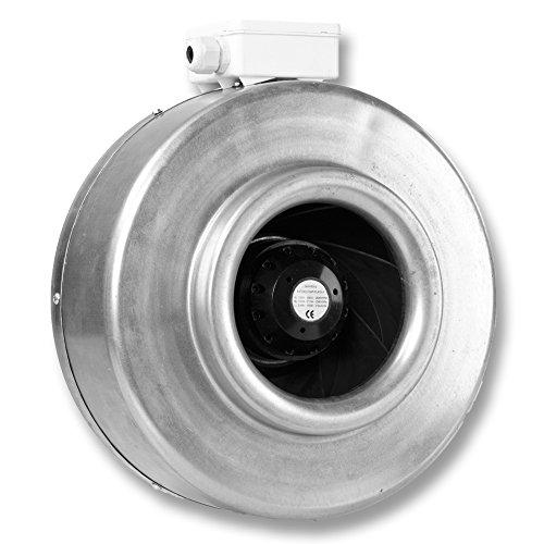 HIT125 von Hydor Zentrifugalventilator Durchmesser 125 mm - 66W - 342m3/h - Code CTR00001-3 Geschwindigkeitsstufen