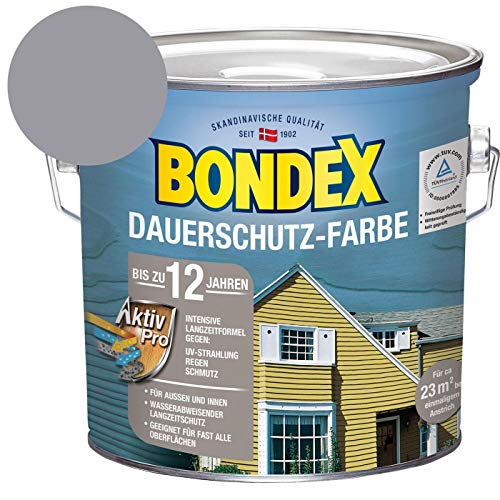 Bondex Dauerschutz-Holzfarbe Platinium 2,50 l - 329873