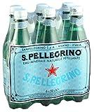 S.Pellegrino Agua Mineral Natural con Gas, 6 x 50cl