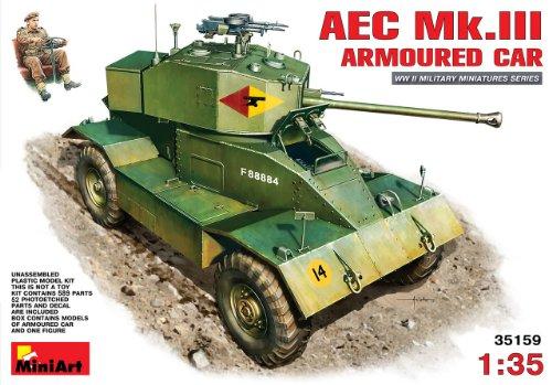 MiniArt 35159 - AEC Mk 3 armerad bil