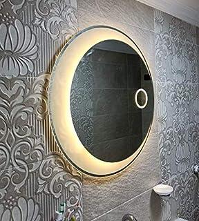مراية حمام- اضائة ليد -دائري قطر 70 سم