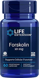 Life Extension Forskolin 10 Mg 60 Vegetarian Capsules