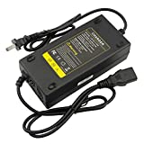 ACDoctor Electric Bicycle AC Charger Adapter Fits 48V 1.8A-2.0A Battery Power Charger with 3 Holes Plug Supply Cord