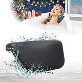 Essort Spa Baño almohada, sintética cojín de baño antideslizante con ventosas, ergonómico para reposacabezas de casa Spa Relajante cabeza, cuello, espalda y hombros, 27x14x5 cm