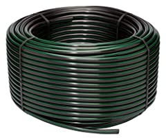 Rugged, flexible tubing that's easy to unroll and stake in garden, flower bed, ground cover or other landscaped areas Professional-grade; won't clog and requires no maintenance Connects easily to your faucet, garden hose, or existing underground spri...
