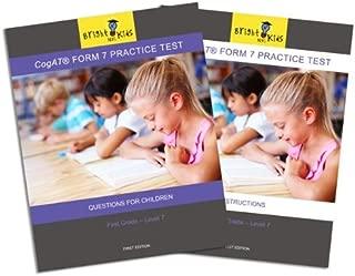 CogAT Form 7 Practice Test - First Grade (Level 7)