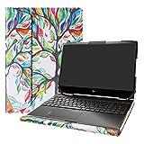 Alapmk Protective Cover Case for 15.6' HP Envy x360 15 15M-dsXXXX 15M-drXXXX(15m-dr1011dx)/HP Chromebook 15 15-deXXXX Laptop[Not fit Envy X360 15 15-cnXXXX 15-cpXXXX 15-apXXX 15-bpXXX],Love Tree