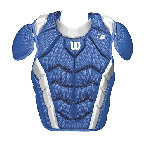 Wilson Pro Stock Chest Protector, Royal, 14.5