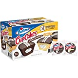 Hostess Chocolate Cupcakes & Golden Cupcakes Variety Pack (32 Ct.)