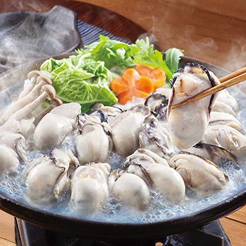 築地丸中 牡蠣(かき)瀬戸内産の最大級2Lサイズ1kg!カキ