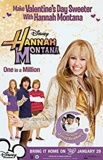 Pop Culture Graphics Hannah Montana: One in A Million Poster C 27x40 Miley Cyrus Billy Ray Cyrus Emily Osment