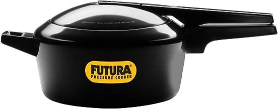 Hawkins Futura Pressure Cooker, Aluminum, 4L, F45, Black
