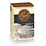 TURN YOUR HOME INTO A GOURMET CREAMERY - Premium Cake Batter ice cream starter with Madagascar bourbon vanilla and a swirl colorful sprinkles. MAKES FRESH, DELICIOUS ICE CREAM - Whisk together ice cream mix, half and half, whipping cream. Pour into y...