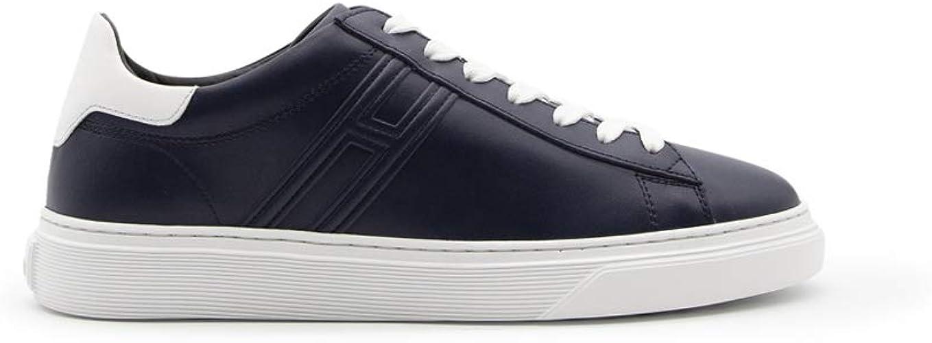Hogan H365 HXM3650J960KLA0RSL Sneakers da Uomo in Pelle Blu con ...
