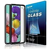 TOPACE 3 Stück Panzerglas für Samsung Galaxy S20 FE 5G/A51 Schutzfolie, 9H Härte Anti-Bläschen Anti-Kratzer Anti-Öl Gehärtetes Glas Displayschutzfolie für Samsung Galaxy S20 Fan Edition 5G/Galaxy A51