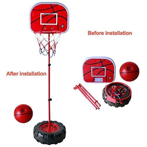 Fajiabao Panier de Basket Enfant Pied...
