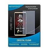 SWIDO Schutzfolie für Allview V2 Viper X+ [2 Stück] Kristall-Klar, Hoher Festigkeitgrad, Schutz vor Öl, Staub & Kratzer/Glasfolie, Bildschirmschutz, Bildschirmschutzfolie, Panzerglas-Folie