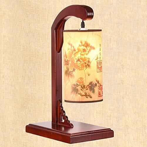 Blingstars Imitatie lamsvacht, tafellamp, stabiele basisverlichting, tafellamp, E27 universeel tafellamp, tafellamp voor de slaapkamer, studeerkamer, bruin blingsterren