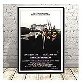 nr Blues Brothers Vintage Film TV Serie Klassische Leinwand
