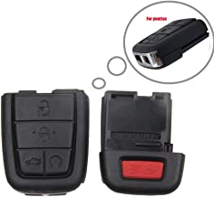 Smart Keyless Entry Remote Case for 2008 2009 Pontiac G8 Key Fob Shell Cover (5 Buttons)