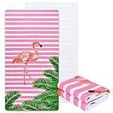 Flamingo Premium Beach Towel, 31.5 x 58.3 inches, Super Soft...