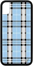 Wildflower Limited Edition iPhone Case for iPhone XR (Blue Plaid)