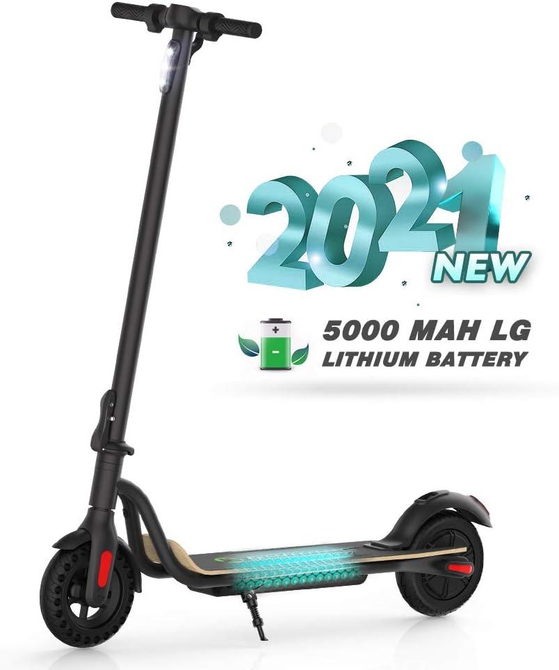 M MEGAWHEELS Monopattino Pieghevole Scooter Elettrico I-Bike da Città Pieghevole, velocità Massima 23km/h, Autonomia 15km per Adulti e Bambini