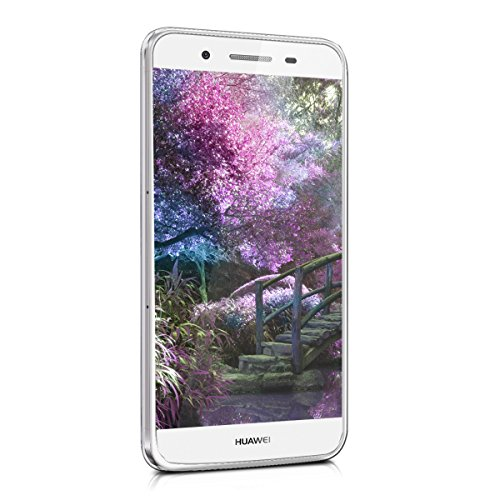 kwmobile Huawei GR3 / P8 Lite SMART Hülle - Handyhülle für Huawei GR3 / P8 Lite SMART - Handy Case in Indische Sonne Design Blau Pink Transparent - 2