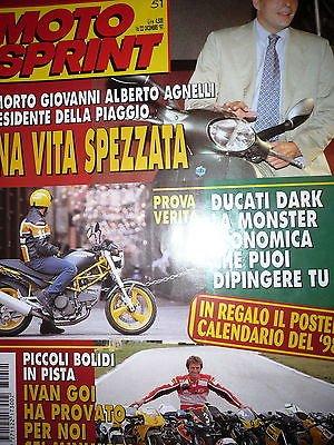 Moto Sprint N.51 '97:Ducati Monster 600 Dark, Honda SFX 50 FF09