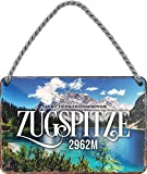 "schilderkreis24 – Blechschild ""Zugspitze"