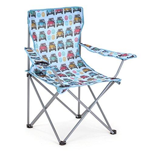 Board Masters Volkswagen Festival-Camping-Stuhl für Erwachsene – VW Käfer Geschenke – Leichter und Strapazierfähiger Sitz für Draußen