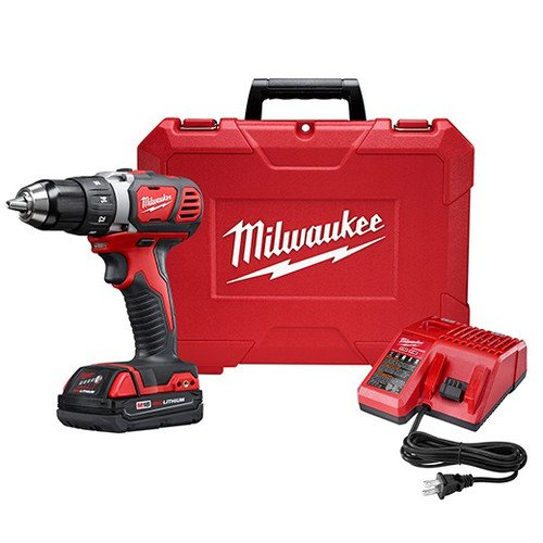 Milwaukee M18 18V Lithium-Ion 1/2 Inch Cordless...