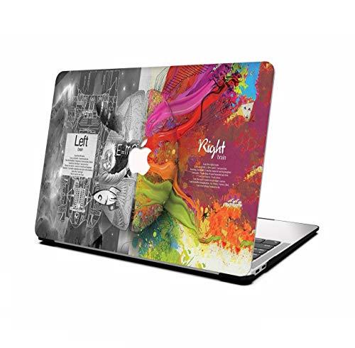 AOGGY Funda MacBook Air 13 Pulgadas 2020 2019 2018 Versión A2337 M1/A2179/A1932,Vistoso Pattern Plástico Cáscara Dura Case para 2020 MacBook Air 13 Pulgadas con Touch ID - Cerebro científico
