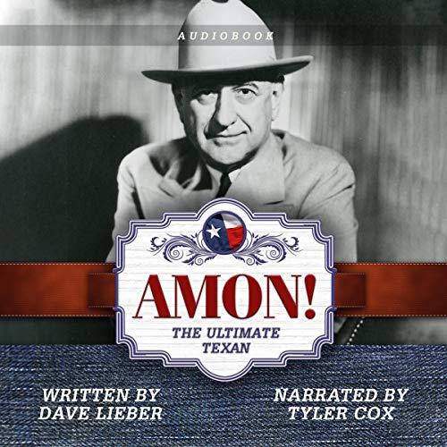 Amon!: The Ultimate Texan audiobook cover art