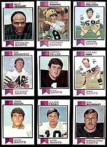 1973 Topps New Orleans Saints Team Set New Orleans Saints (Set) EX/MT+ Saints