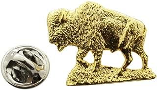 Buffalo Pin ~ 24K Gold ~ Lapel Pin