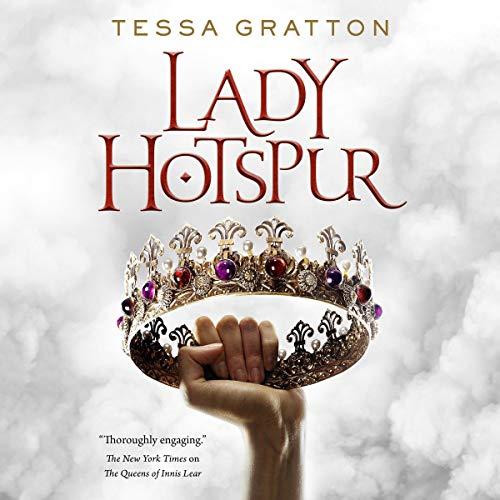 Lady Hotspur audiobook cover art