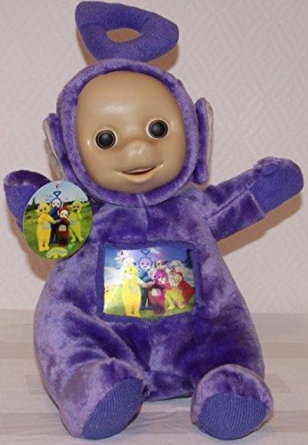 Tomy bBC toys teletubbies peluche peluche assis super tinky winky mauve env. 30 cm de long
