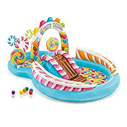 """in budget affordable Intex Scandy Zone Inflatable Playcentre, 116 """"x 75″ x 51 """", for children over 2 years old"""
