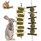 Yokawe 2 Piezas Bunny Chew Balls Masticar Juguetes para Jugar Cuidado De Los...