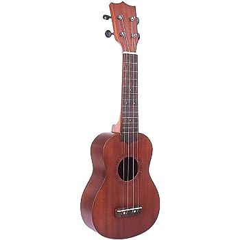 Yvsoo Guitarra Juguete para Niños Ukelele 4 Cuerdas Guitarra ...