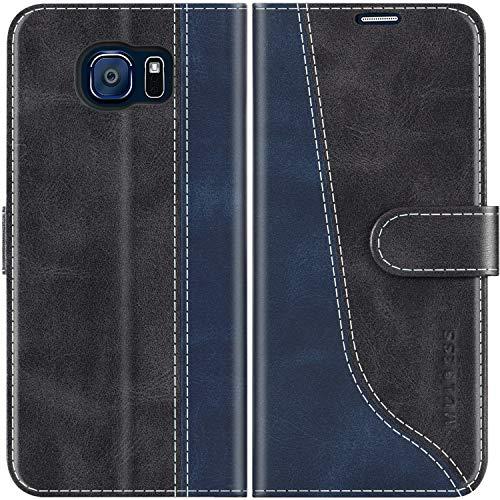 cover a portafoglio samsung s6 Mulbess Custodia per Samsung S6
