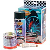 AutoStyle Motip Tuning Line Set Pinza Freno Set Racing Rosso