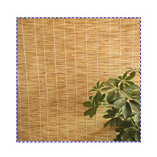 HRD Schilfvorhänge - Für Deck Pergola Pavillon, RaffrollosSichtschutz Geeignet. Ideal Als Sonnenschutz, Hängende Verzierung