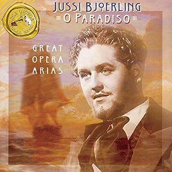 """O Paradiso"" (Great Opera Arias)"