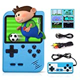 Fivejoy Retro Game Console for boy, Handheld Games Consoles With 520 Games 2.8 Inch Retro Mini Game Player Support TV & 2 Player 1020mah Rechargable & Portable HD LCD game console boy